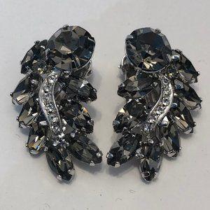 Vintage Rhinestone Earring Pair